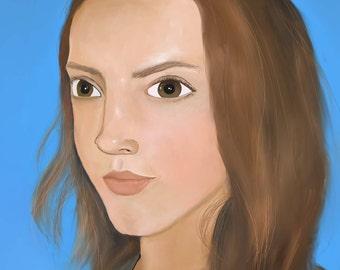 Human Digital Painting Download