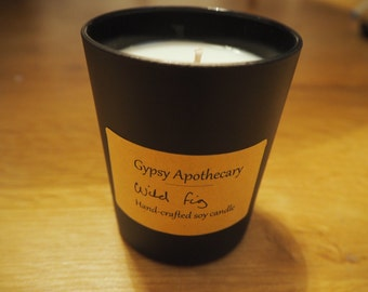 Wild Fig Scented 100% Soy Wax Candle