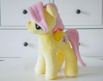 Pony Flattershy Soft Toy, Plushie