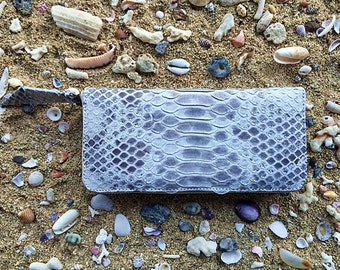 Natural Snakeskin Wallet
