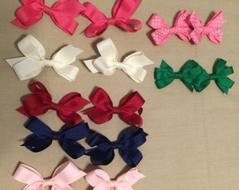Lot of Seven, Sets of Mini Hairbows