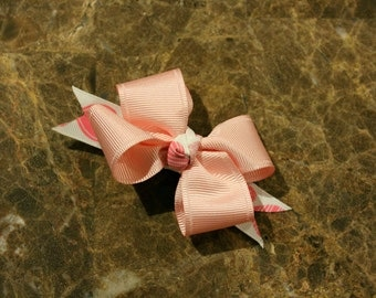 Dainty Pink Bow