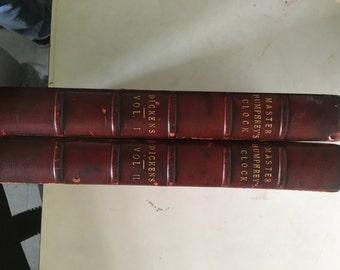 Master Humphreys Clock Dickens Vol. I,II