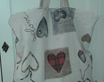 "Bag: ""romantic heart"""