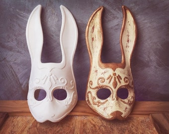 Splicer Bunny Mask from Bioshock unpainted