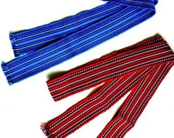 Ukrainian Kids Woven Multi-Color Belt Krayka Poyas 128cm x 5.5cm Vyshyvanka