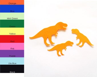 25 Pack - Paper Dinosaur Shape, Dinosaur Die Cut, Dinosaur Cut Outs, Paper Party Supplies, Paper Scrapbook Supplies