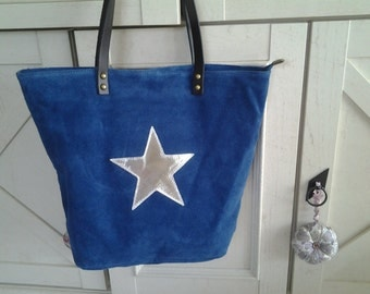 Tote bag with Silver Star