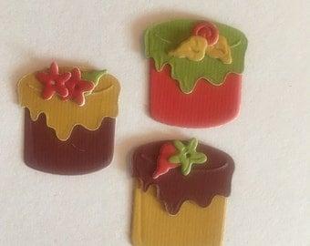 Tea Cake Mini Die-Cutouts
