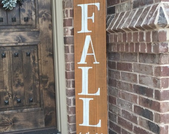 Happy FALL Yall sign, wooden Fall sign, Fall sign for Front porch, Fall Front door decor