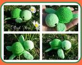 Tutoriel -  Mimy La tortue- Pattern [FR]