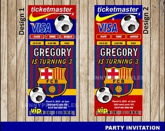 Football Birthday Party Invitations with perfect invitation example