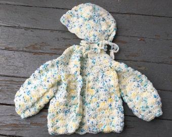 Baby sweater set | Etsy