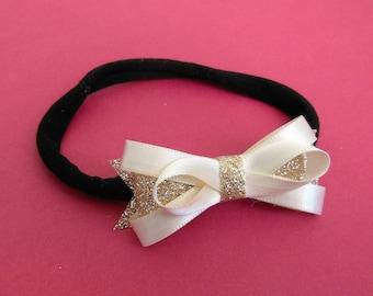 Baby Headband | Gold Headband | Newborn Headband