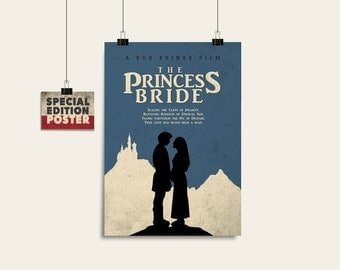The Princess Bride Poster Movie poster Art print Digital download Instant download Film art Wall decor Film print Film poster