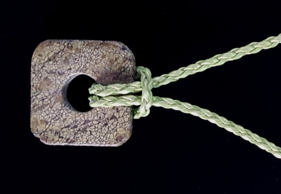 Olive Green Jade Stone Pendant / Green Jade Pendant / Green Jade Necklace / Jade Necklace / Womans Pendant / Ladies Jewelry/ NP61053