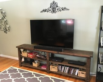 Rustic Tv stand x console