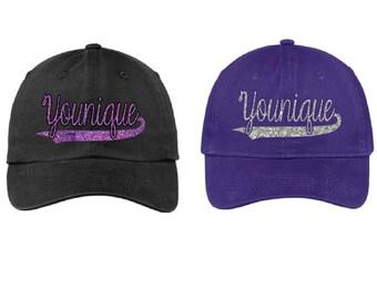 Glitter Younique Hat, Younique Cap, Younique Hat, Younique
