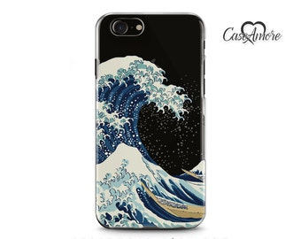 iPhone 7 case, Clear iPhone 7 Plus case, iPhone 6 case, iPhone 6s case, iPhone 6 Clear case, Galaxy S8 case, Samsung Galaxy, Kanagawa Wave