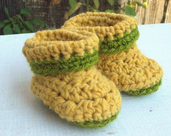 Baby booties .  Baby crochet shoes. Baby crochet booties . Baby shower gift . New baby gift