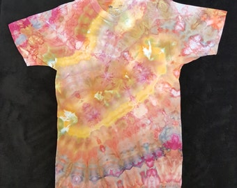 Ice Dye, Tie Dye, One Of A Kind, Jockey (Life LongLast ) small (34-36) ice-dyed shirt