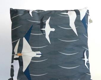 Decoratieve kussen, kussensloop, home accessoire, featuring Noordzee bloemenverkoopster afdrukken, 40 x 40 cm
