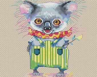 "Cross Stitch Pattern ""Koala Bear"""