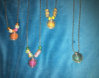 Essential Oil Ball Chain Necklace