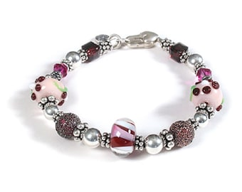 Plum Pudding Bracelet
