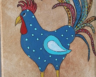 Stepping Stone/ Blue Rooster