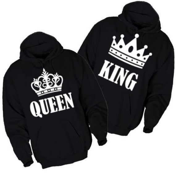 hoodies king and queen. Black Bedroom Furniture Sets. Home Design Ideas