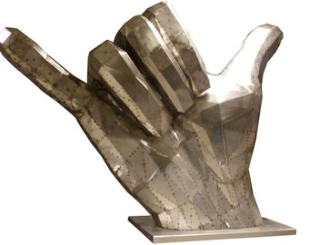 Shaka - Metal hand Sculpture