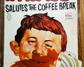Mad Magazine Salutes The Coffee Break This Issue April 1981 No. 222 Issue