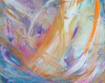 Original Abstract Art Painting - Dream Whispers