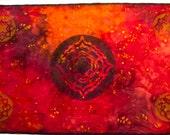 Mythala: Centering Lotus; Mandala...Myth...Mythala (Wall Hanging, Altar Cloth, Prayer, Medicine Wheel, Sacred Art, Devotion, Heirloom)