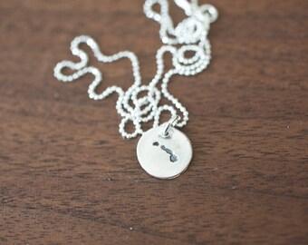 Tiny Hawaii Necklace Silver Hawaii Necklace State Charm State Necklace HI Small State Charm Hawaii Charm Hawaii Necklace