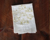 Cheese types Tea Towel, cheese towel Kitchen Towel, Apartment dish Towel, White Cotton Towel, Housewarming Gift cheese lover