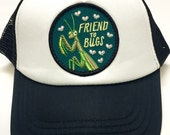 """Toddler/Kids Trucker Hat- with """"Friend to Bugs&quo..."""
