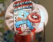 Captain America Comic Nightlight