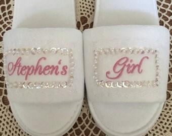 Bridal Honeymoon Slippers
