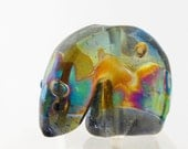 Glass Spirit Bear Cub Fetish Southwestern Style Handmade Bead or Sculpture by Marcy Lamberson