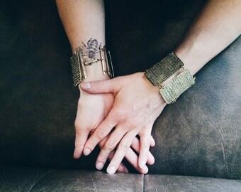 rapture wonder woman bracelets, set of two for the wild spirit