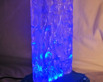 ALIEN BEACON Solid Glass GrOoVy lamp LED