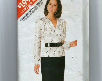 Butterick Misses' Top and Skirt Pattern 5972