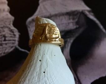 Frances Uncanny bronze ring in East/ size 8.5US