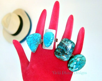 Caught red handed wearing turquoise