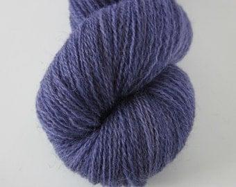 50g Logwood Dyed Laceweight Yarn