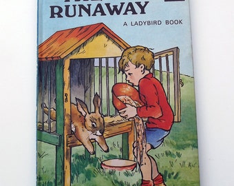 Vintage Ladybird Children's Story Book - The Runaway - great condition- Ladybird Book