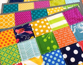 Patchwork placemats set of six