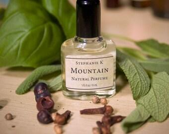 Mountain - all Natural Botanical Perfume Mini